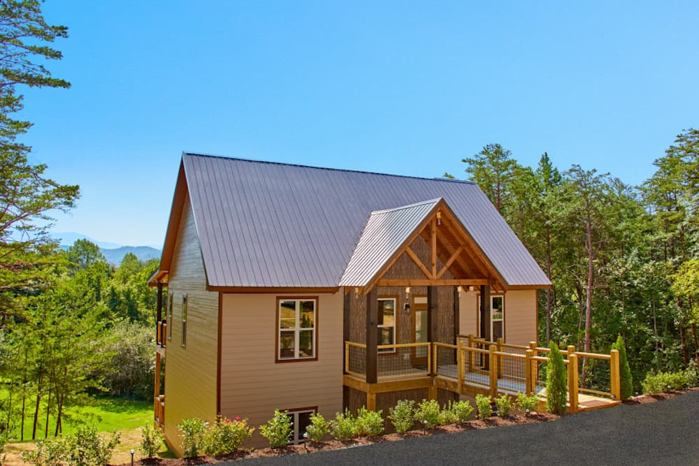 smoky mountain springs pigeon forge luxury cabin